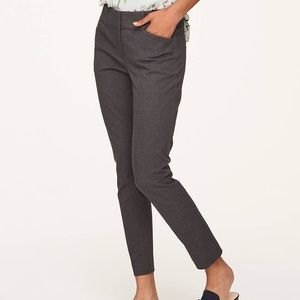 Loft outlet cropped ankle modern skinny pants